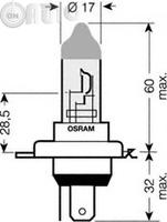 Bec -  far faza lunga OSRAM ULTRA LIFE