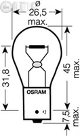 Bec -  lampa mers inapoi OSRAM ULTRA LIFE