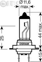 Bec incandescent -  bec lumina zi OSRAM ULTRA LIFE