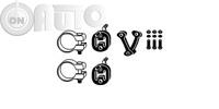 Set montare -  sistem de esapament